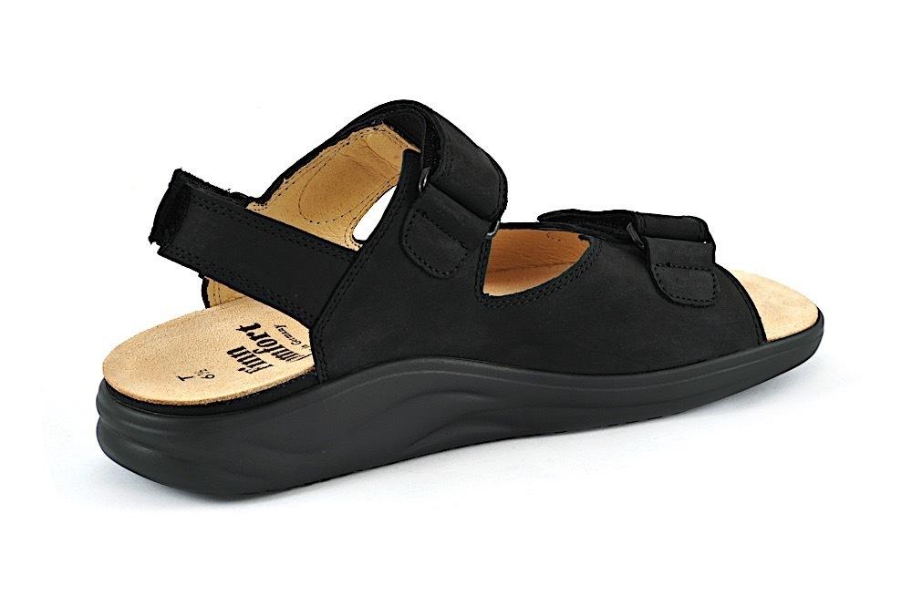 Finn Comfort CORINTH schwarz Damensandale mit Finnamic SALE