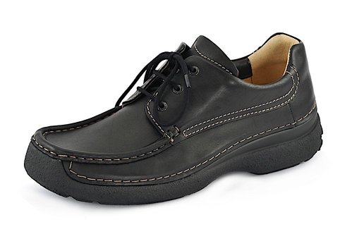ROLL SHOE MEN black
