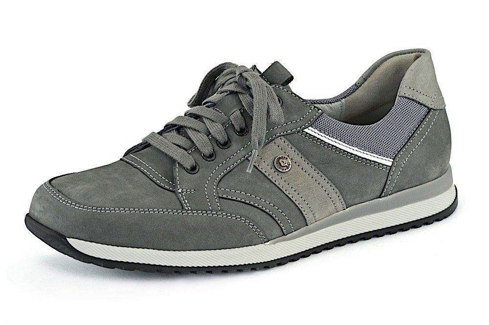 best sneakers ae88a 8728c WALDLÄUFER Schnürschuh Hagen asphalt-grau-weiss reduziert