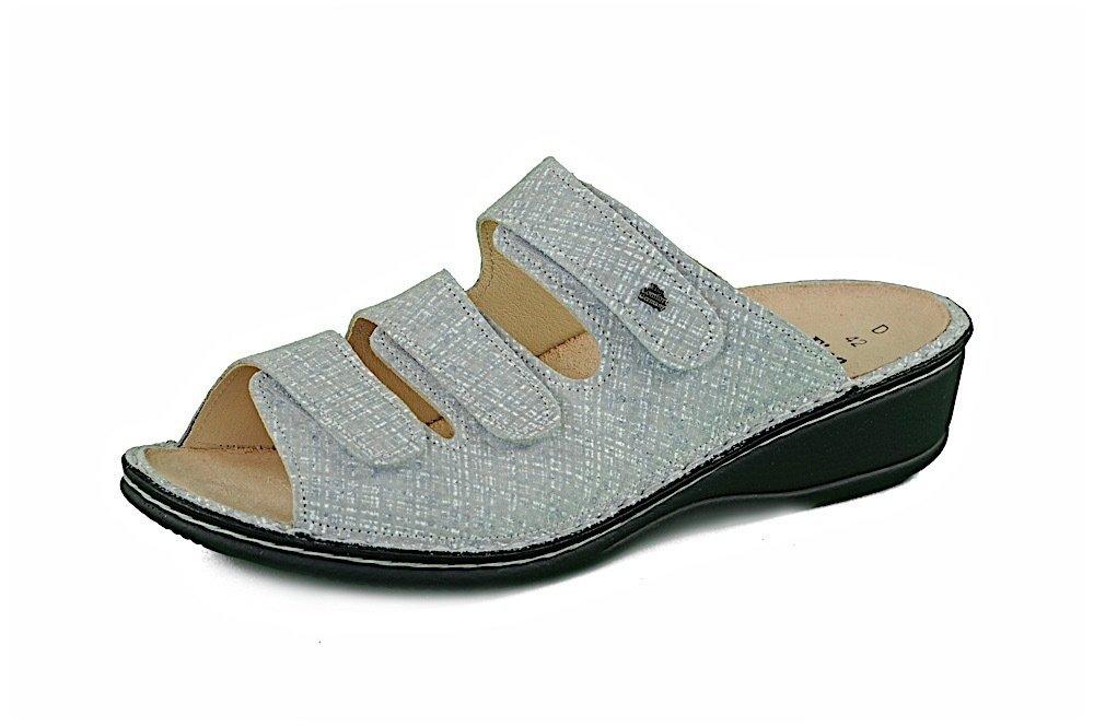 limitierte Anzahl günstig am besten authentisch Finn Comfort PISA grey klassische Pantolette reduziert