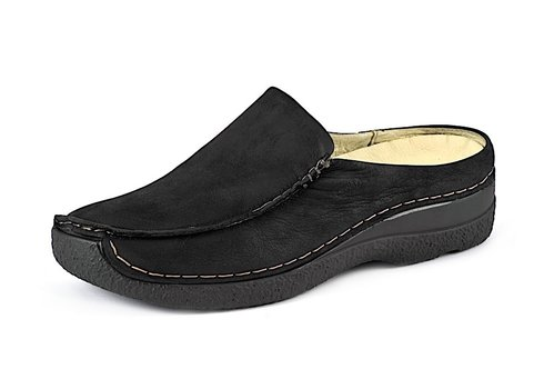 SEAMY SLIDE black