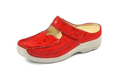 ROLL SLIPPER red summer