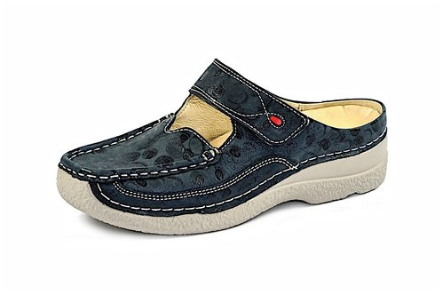 ROLL SLIPPER denim